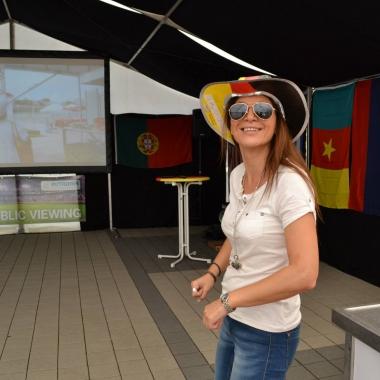 Mitarbeiterevent: Public Viewing WM 2014.