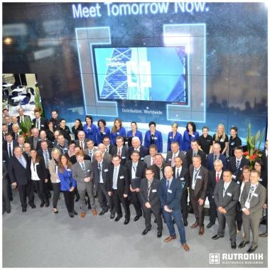 WIR auf der Electronica - Weltleitmesse für Systeme, Komponenten und Anwendungen.