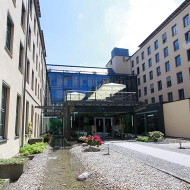 Im Haus der Kommunikation in München arbeiten mehr als 1200 Personen.