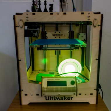 Unser Bürotierchen, ein 3D-Drucker