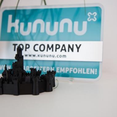 Wir sind stolze kununu Top Company
