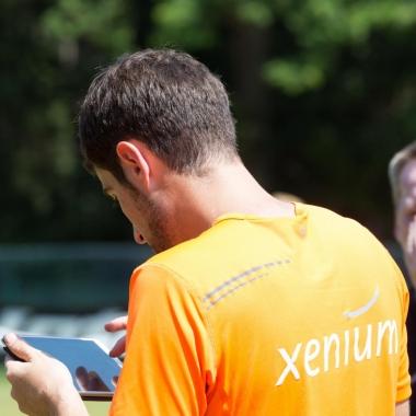 Der Xenium-Soccer-Cup 2015 im Rahmen unseres Social Events - Die Ergebnisse stehen fest und der Sieger wird ermittelt.