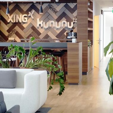 Viel Platz für weiteres Wachstum in den neuen Büroräumen im Herzen von Wien