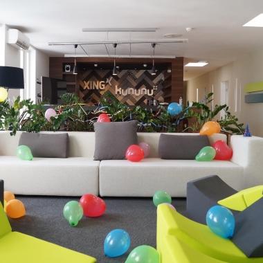 kununu-Lounge zur 8. Geburtstagsfeier