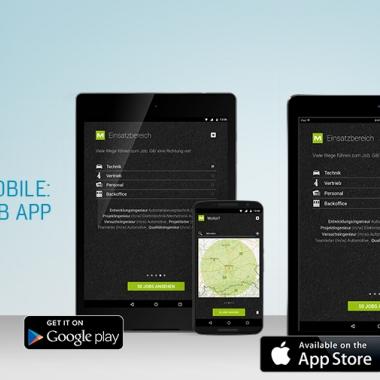 M wie mobile: Die M Plan Job App