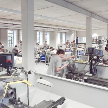 Ausbildungswerkstatt Verwaltung Rehau, Gebäude Prolin