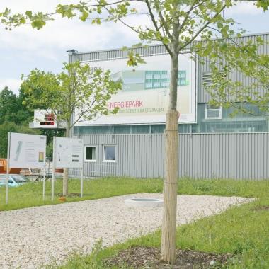 Energiepark Verwaltung Erlangen