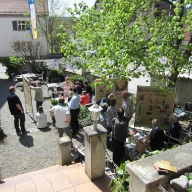 PROaktiv Mitarbeiterevent: Gruppenarbeit bei einem internen Workshop