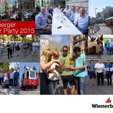 Highlights des Wienerberger Sommerfest 2015