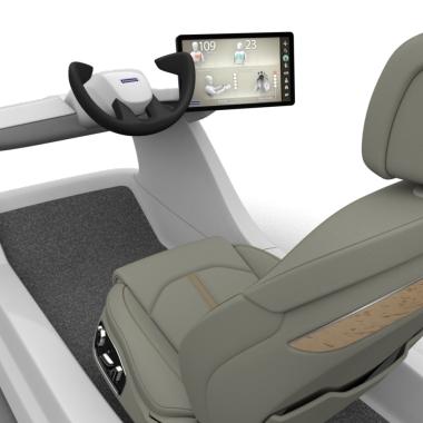 Active Wellness Sitzkonzept: Der Autositz, der müde Fahrer wieder munter macht