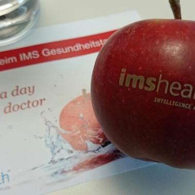 Gesundheitstag bei IMS Health, Standort Frankfurt