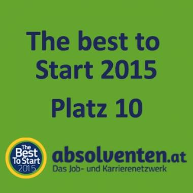 Platz 10 bei The best to Start 2015