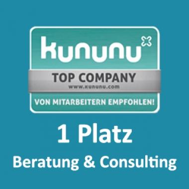 Platz 1 in der Kategorie Beratung & Consulting