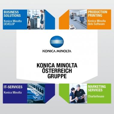 Die Konica Minolta Österreich Gruppe