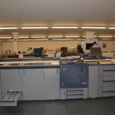 Digital Imaging Square - Schauraum für Produktionsdruck und Hausdruckereien