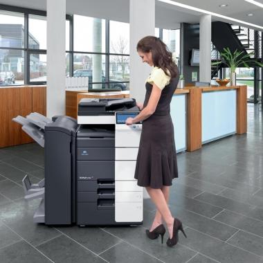 Unser leistungsfähige MFP (Multifunktionsprinter) Serie bizhub verkörpert Qualität und Leistung zum besten Preis