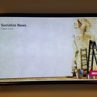Immer bestens informiert mit unseren Socialize News.
