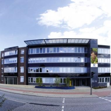 Außenansicht Plan Bürogebäude Hamburg