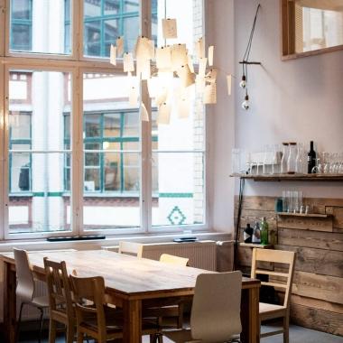 Küche im Berliner Büro