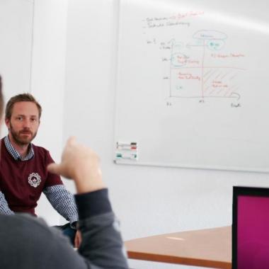 Ideenfindung und -umsetzung beim Innovationstag
