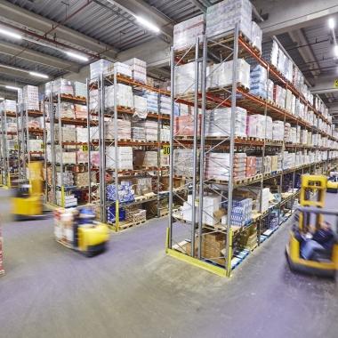 Das Logistikzentrum in Ellhofen ist eines der insgesamt fünf Logistik-Standorte der EDEKA Südwest.