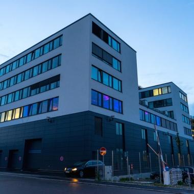 Unser Hauptquartier im Innovations- und Entwicklungszentrum Gaimersheim (IEZ)