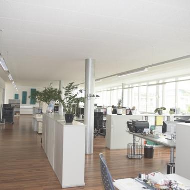 Helle und offene Räume bieten Platz für Kreativität.