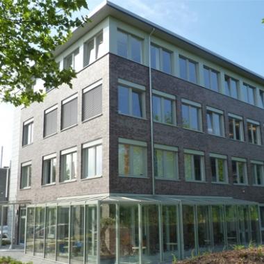 Die Unternehmenszentrale in Gelsenkirchen.