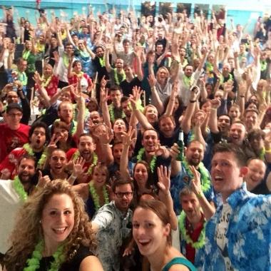 Ein Riesen-Selfie bei den Prototyping Days 2014