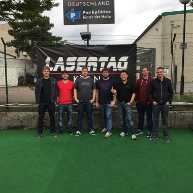 Teamevent Lasertag 2015