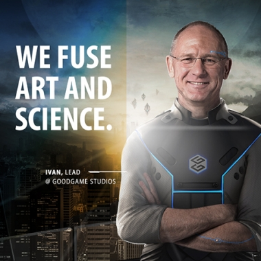 WE FUSE ART AND SCIENCE