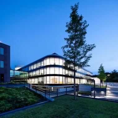 Der BGV-Hauptsitz in Karlsruhe