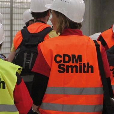 Baustellenbesichtigung City-Tunnel Leipzig (ein CDM Smith Projekt)