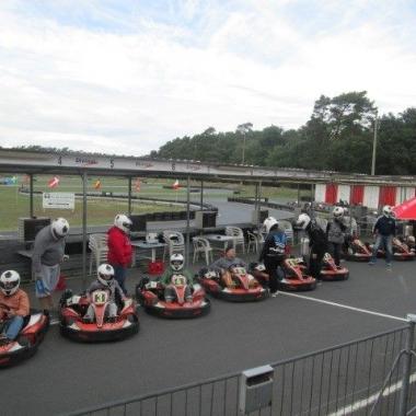 Team-Event, Kart fahren