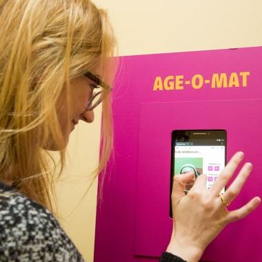 Live-Event im KATHARINENHOF ALT-Britz, der Age-O-Mat im test