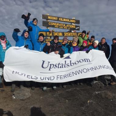 Unsere Kili-Rockstars auf dem Kilimandscharo