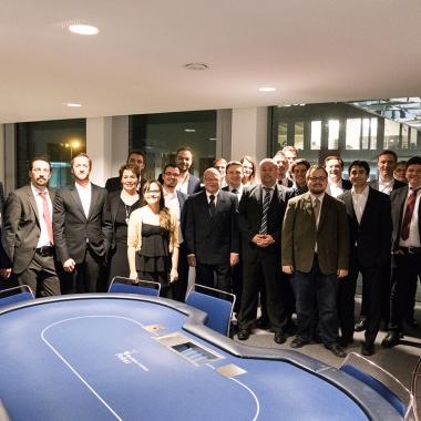 """Interne """"ahd Pokernacht"""" in Dortmund. Die Einsätze wurde anschließend für einen guten Zweck gespendet!"""