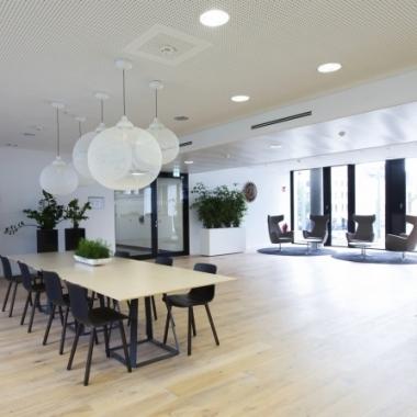 Düsseldorfer Office - Empfangsbereich