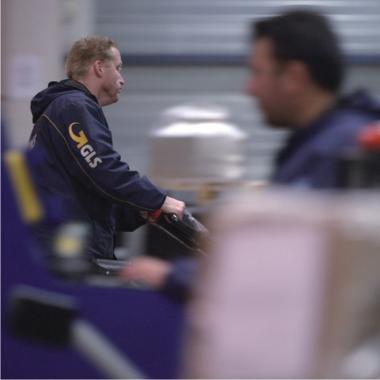Logistik-Jobs: Lagermitarbeiter bei GLS Paketdienst
