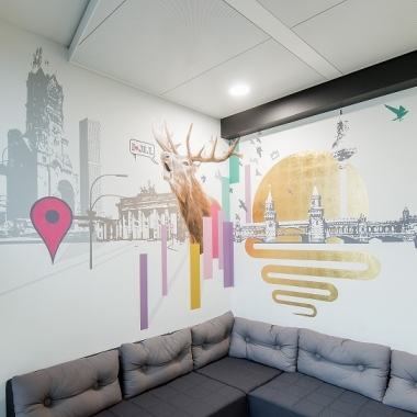 Neue Räume im Berliner Office