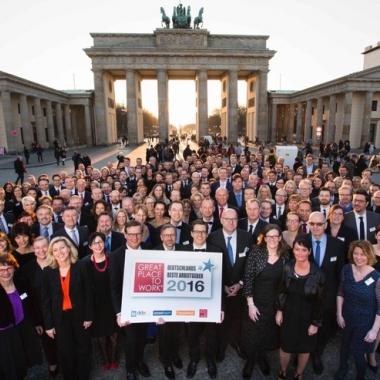 Zum zweiten Mal in den TOP-TEN Deutschlands bester Arbeitgeber