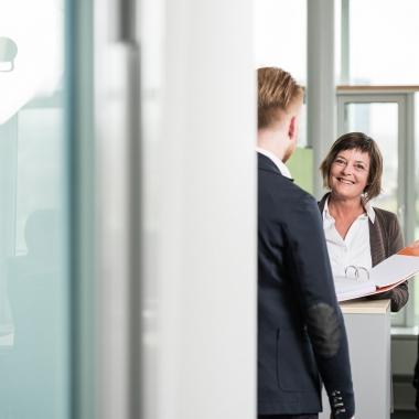 Brigitte Jaggi, Business-Analystin