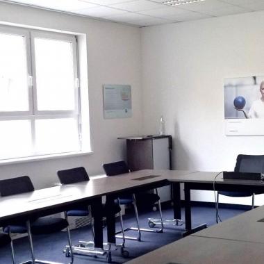 """""""CGM Clinical Campus"""": diese Besprechungsräume lassen sich modular vergrößern."""