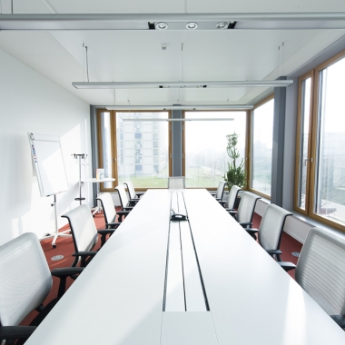 helle, moderne Sitzungszimmer