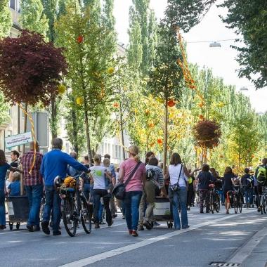 Die Wanderbaumallee wurde von unserem Mutterverein »Green City e. V.« ins Leben gerufen und wird heute noch veranstaltet (Foto: Green City e.V.)