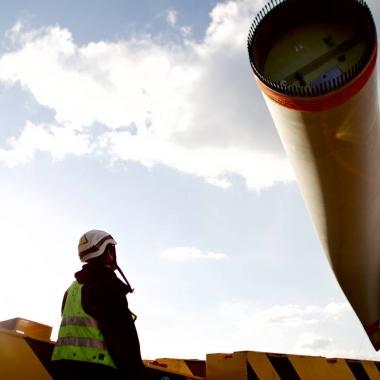Fertigstellung unseres Windparks Sindersdorf (Foto: Green City Energy AG / Mark Mühlhaus)