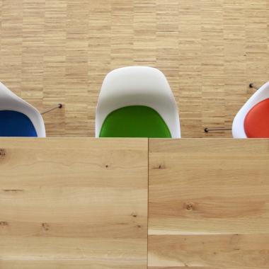 Unsere Büroräume im Herzen von München sind lichtdurchflutet und modern eingerichtet (Foto: Green City AG)
