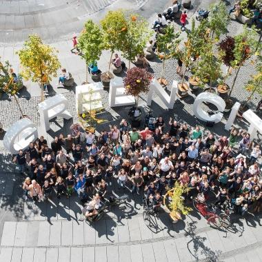 Unsere Mitarbeiterfeste finden immer mit der gesamten Green City-Familie statt, bestehend aus unserem Mutterverein Green City e.V., Green City Projekt GmbH und uns. (Foto: Green City Energy AG / Tobias Hase)