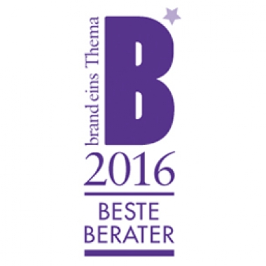 """Atreus erhielt eine Spitzenposition im brand eins Branchenranking """"Beste Berater 2016"""". Wir freuen uns besonders über die Bestnote in der Kundenbeurteilung."""