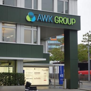 Eingang des Standortes Zürich